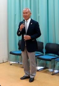 浅田豊久 理事長